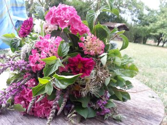 un bouquet qui sent bon l'été