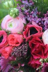 Bouquet printanier renoncules et anémones mes chouchoutes