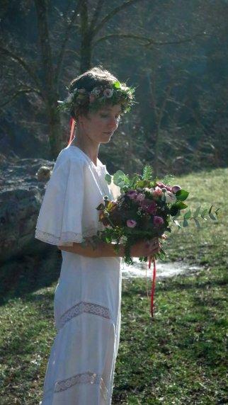 bouquet et couronne