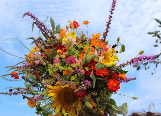Bouquet champêtre et estival