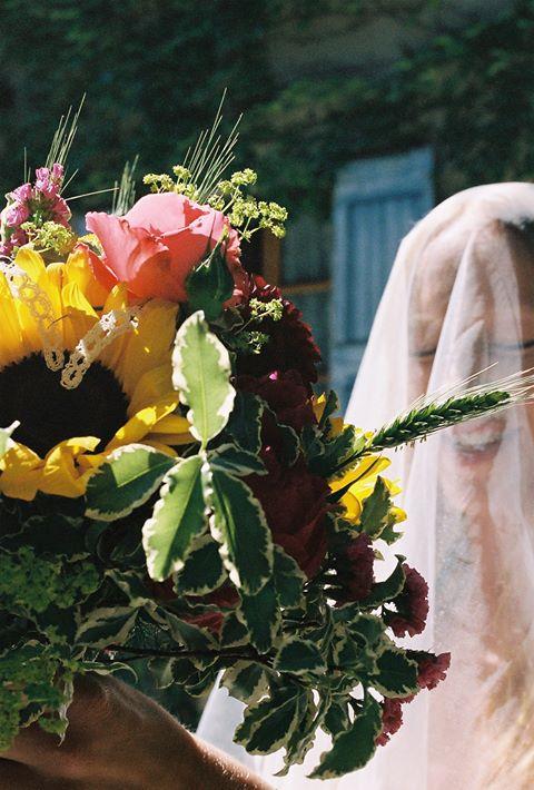 Mariage diois fleuriste bohème
