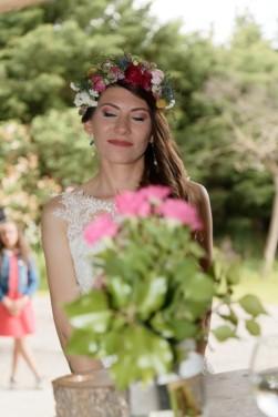 La couronne de la mariée
