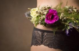 couronne de fleurs seconde peau douceur et sensualité